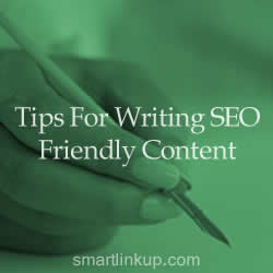 Tips For Writing SEO Friendly Content