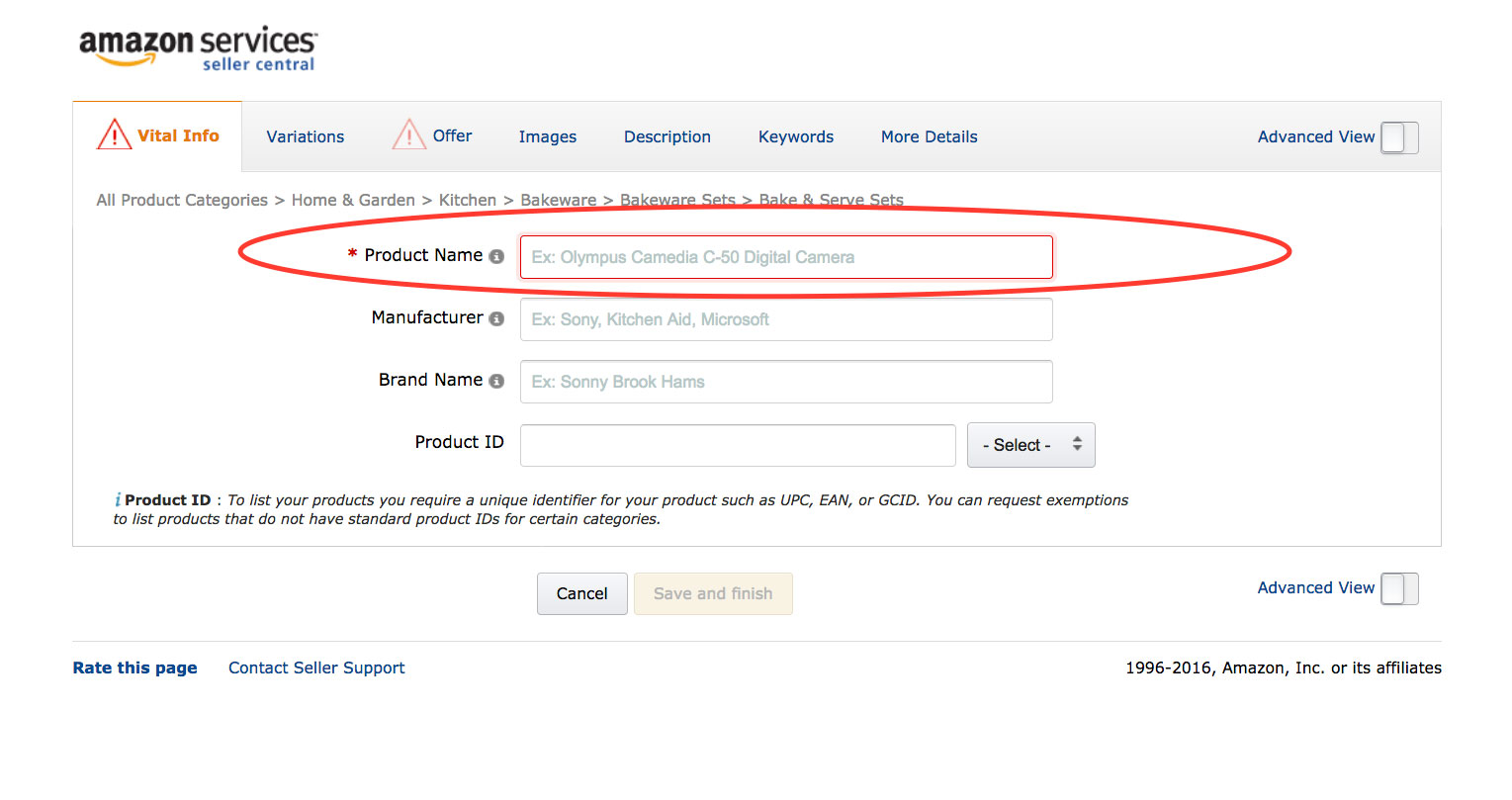 Amazon Product Optimization Advice