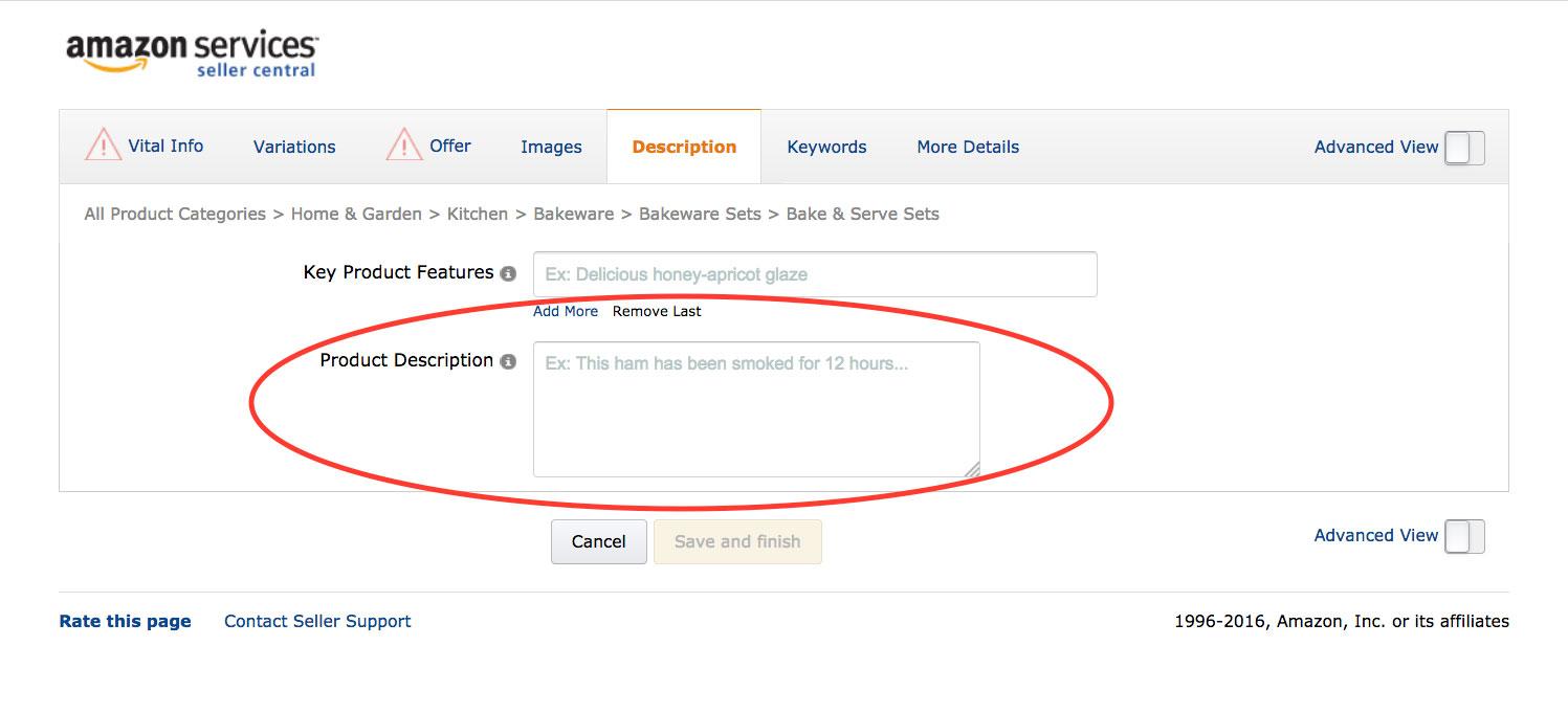 Optimization Amazon Listings