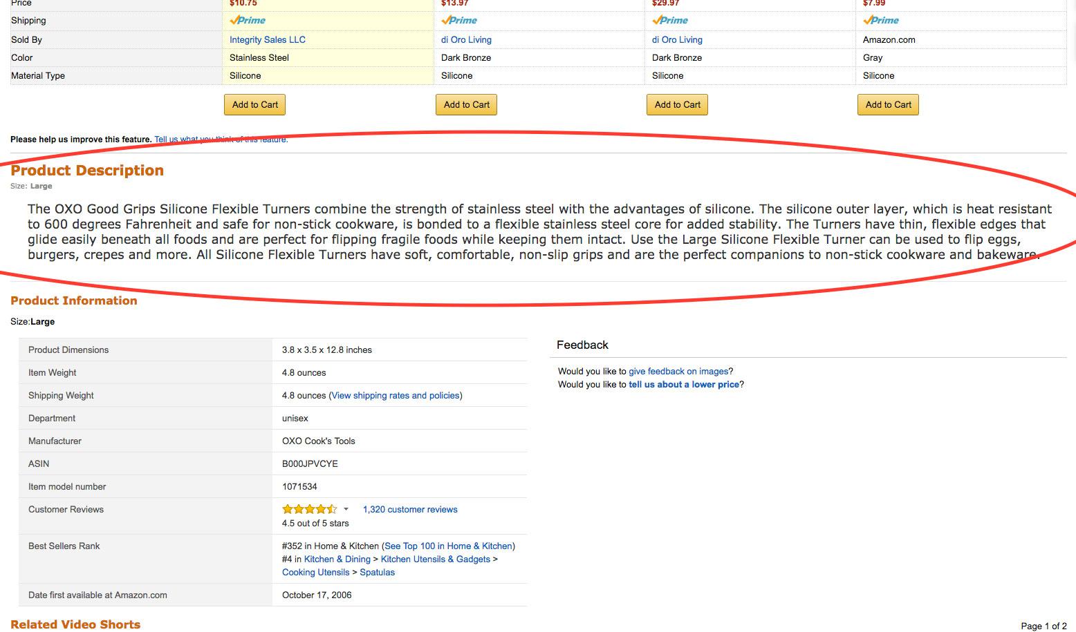 Optimizing Product Listing Amazon