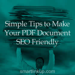 Simple Tips to Make Your PDF Document Search Engine Friendly