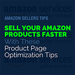 Amazon Seller Product Page Optimization